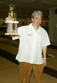 Sam Waterston at the 17th Annual Second Stage All-Star Bowling Classic.
