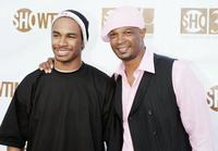 Damon Wayans and his son Damon Wayans Jr. at the Showtimes 30th Anniversary and Summer 2006 TCA party.