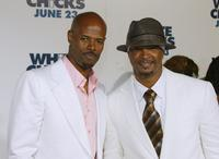 Damon Wayans and Keenen Ivory Wayans at the California premiere of