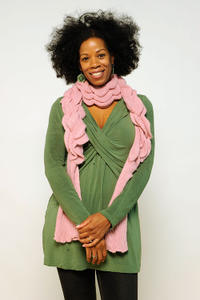 Kim Wayans at the portrait session of