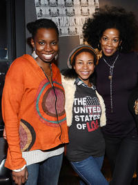 Adepero Oduye, Aasha Davis and Kim Wayans at the Bing Bar in Park City.