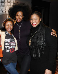 Aasha Davis, Kim Wayans and Pernell Walker at the Bing Bar in Park City.