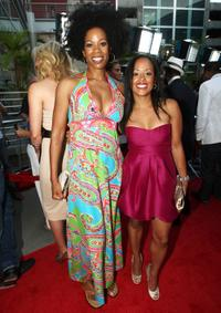 Kim Wayans and Essence Atkins at the premiere of