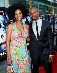 Kim Wayans and Damon Wayans Jr. at the premiere of