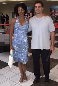 Kim Wayans and Kevin Knats at the premiere of