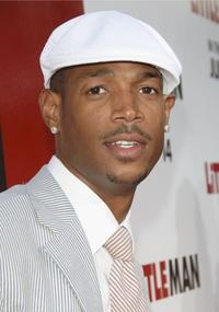 Marlon Wayans at the premiere of