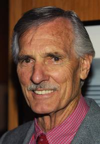 Dennis Weaver at the Centennial Tribute to Bing Crosby.