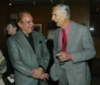 Dennis Weaver and Rich Little at the Centennial Tribute to Bing Crosby.