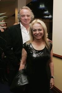 Jacki Weaver and Guest at the 2007 Sydney Theatre Awards .