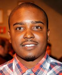Jason Weaver at the Outkast celebrates 10 million albums sold party.