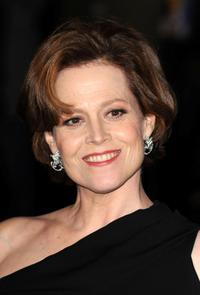 Sigourney Weaver at the London premiere of