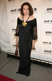 Sigourney Weaver at the AmFAR Gala honoring John Demsey and Whoopi Goldberg.