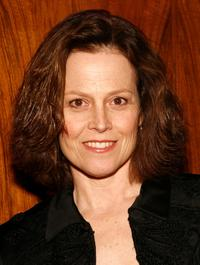 Sigourney Weaver at the launch of Bill Blass New Fragrance.