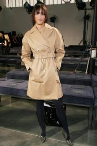 Veronica Webb at the Halston 2008 fashion show during the Mercedes-Benz Fashion Week Fall.