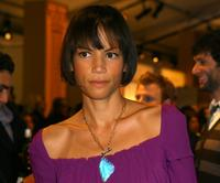 Veronica Webb at the Mercedes-Benz Fashion Week Fall 2008.