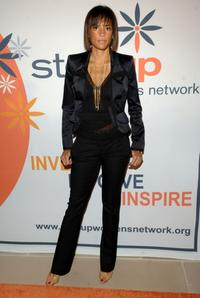 Veronica Webb at the Step Up Women's Networks 10th Anniversary Inspiration Awards.