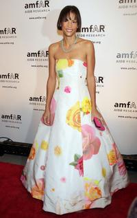 Veronica Webb at the AmfARs 10th Annual New York Gala.