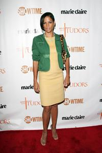 Veronica Webb at the New York premiere of