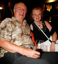 Philip Bosco and his wife Nany Bosco at the Fox Searchlight party during the Toronto International Film Festival 2007.