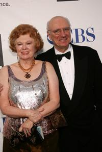 Philip Bosco and his wife Nancy at the 59th Annual Tony Awards.