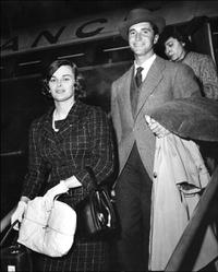 An Undated File Photo of Lucia Bose and Luis Miguel Dominguin.