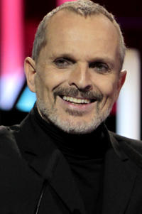 Miguel Bose at the 63rd Ondas Gala Awards in Barcelona.