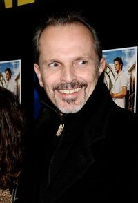 Miguel Bose at the Alejandro Sanz's concert.