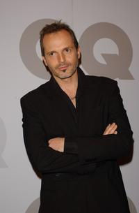 Miguel Bose at the GQ Magazine Men of Year 2002 Awards.