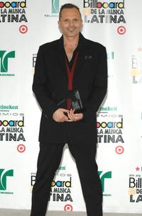 Miguel Bose at the 2007 Billboard Latin Music Awards.