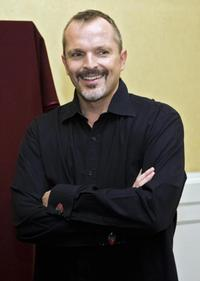 Miguel Bose at the press conference for making a series of concerts as part of his