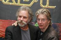Bob Weir and Phil Lesh at the signing of