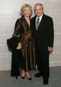 Patricia Carr and Tom Bosley at the Nina Ricci Fall 2006 Collection fashion show.