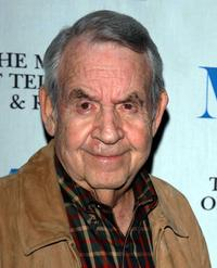Tom Bosley at the 30th anniversary reunion of