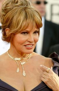 Raquel Welch at the 62nd annual Golden Globe Awards.