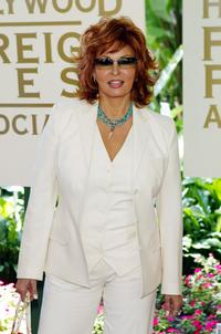 Raquel Welch at the annual Hollywood Foreign Press Association installation luncheon.