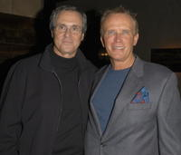 Rick Berman and Peter Weller at the