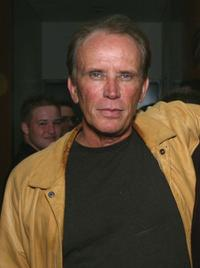 Peter Weller at the special screening of