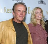 Peter Weller and Eloise DeJoria at the special screening of