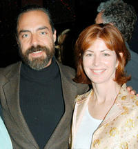 Titus Welliver and Dana Delaney at the after party of the California premiere of