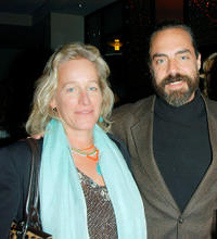 Titus Welliver and Guest at the after party of the California premiere of