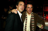 Titus Welliver and Andy Garcia at the after party of the California premiere of