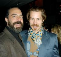 Titus Welliver and Timothy Olyphant at the after party of the premiere of