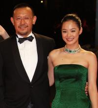 Jiang Wen and Zhou Yun at the premiere of