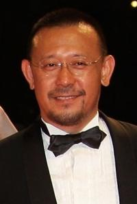 Jiang Wen at the premiere of