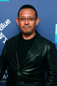 Jiang Wen at the New York premiere of