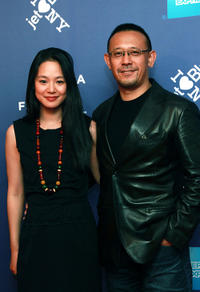 Zhou Yun and Jiang Wen at the New York premiere of