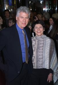 Barry Bostwick and Sherri Ellen Jensen at the Aida opening in New York City.