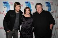 Ashley Parker Angel, Shannon Durig and George Wendt at the celebration of Shannon Durig's 1,000th performance in