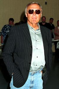 Adam West at the 2nd annual Comic And Fantasy Creators Convention.