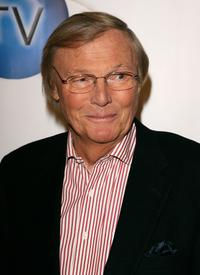 Adam West at the launch of In2TV at the Museum of TV & Radio.